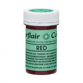 Sugarflair naturalūs maistiniai dažai - raudona (Red), 25g