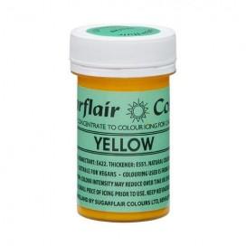 Sugarflair naturalūs maistiniai dažai - geltona (Yellow), 25g
