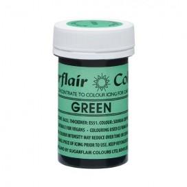 Sugarflair naturalūs maistiniai dažai - žalia (Green), 25g