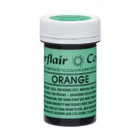 Sugarflair naturalūs maistiniai dažai - oranžinė (Orange ), 25g