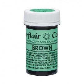Sugarflair naturalūs maistiniai dažai - ruda (Brown), 25g