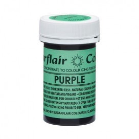 Sugarflair naturalūs maistiniai dažai - violetinė (Purple), 25g