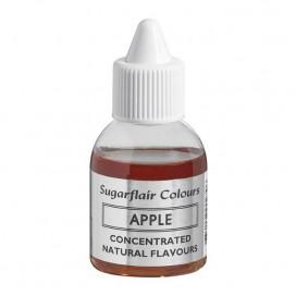 Sugarflair naturalūs aromatas - obuolis (Apple), 30 ml