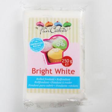 FunCakes balta (bright white) cukrinė masė - 250g