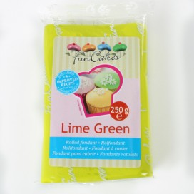 FunCakes lime green fondant - 250g