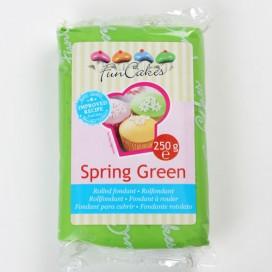 FunCakes žalia (spring green) cukrinė masė - 250g