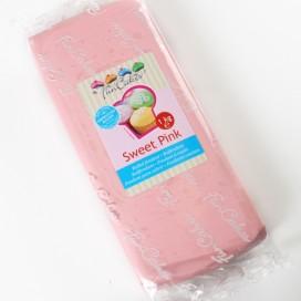FunCakes pastelinė rožinė (sweet pink) cukrinė masė -1kg