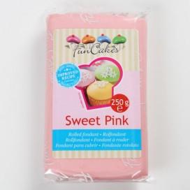 FunCakes pastelinė rožinė (sweet pink) cukrinė masė -250g
