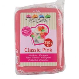 FunCakes rožinė (classic pink) marcipanas - 250g