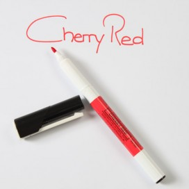 Sugarflair raudona (cherry red) maistinis rašiklis