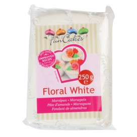 FunCakes  baltas (floral white) marcipanas - 250g
