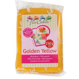 FunCakes  geltonas (golden yellow) marcipanas - 250g