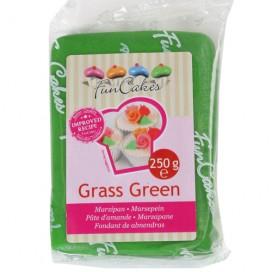 FunCakes žalias (grass green) marcipanas - 250g