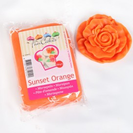 FunCakes oranžinis (sunset orange)marcipanas - 250g