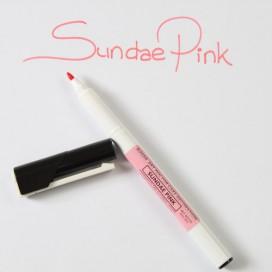 Sugarflair rožinis (sundae pink) maistinis rašiklis - 40g