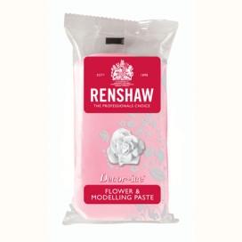 Renshaw rožinė (rose pink) cukrinė gėlių masė - 250g