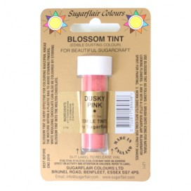 Sugarflair rožinė (dusky pink) birūs sausi dažai - 7ml