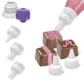 Wilton saldainių dekoravimo įrankių rinkinys - 5vnt.